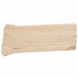 4X (50 darabos fa viaszos viasz spatula nyelv eldobható botokkal szőreltávolító CrC9M2
