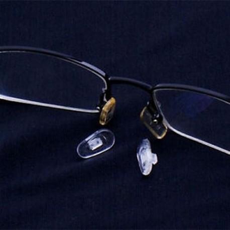 Ajándék 25 pár szilikon szemüveg orrbetét ovális nyomógomb B4M7