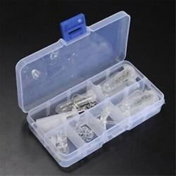 4X (szemüveg optikai javító eszköz választékkészlet, csavar anya, orrbetét készlet, DurablH7P8