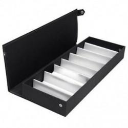 Fekete - 1X (Box Porta napszemüveg tok, tok, táska, szemüveg tok, K9K9 tálca)