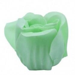 6 db zöld illatú fürdőszappan rózsaszirom szív típusú Box B7L5 dobozban