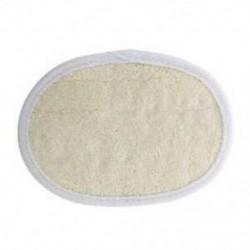 1X (természetes len pamut pad testbőr hámlasztás súrolófürdő tusfürdő S B2Y8