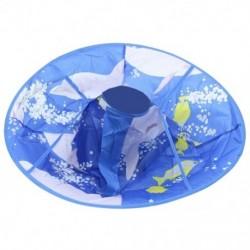 Gyerekek hajvágás fodrász hajvágó sapka kék köpeny ruhával kötény Hai U5U5