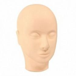 Manöken fej smink edzés kozmetológiai szempilla meghosszabbítása Face-Yello M3B8