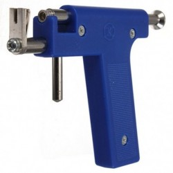 Pro acél fül-orr köldök test-lyukasztó pisztoly szerszámkészlet 98 db műszercsavar L6O3