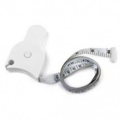 Testmérő szalag a derék diéta mérésére Fogyás Fitness Health D8W8 I7F4