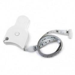 Testmérő szalag a derék diéta mérésére Fogyás Fitness Health D5U8