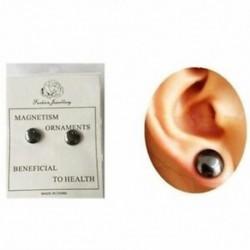 Egészséges stimuláló akupontok fülbevalók ékszer mágnesek karcsúsító javítás N0N3