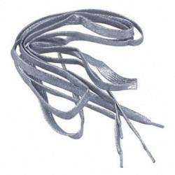 Ezüst - 47 &quot -es, csillogó, lapos színű, cipőfűző cipőfűző, Sport Dance TG