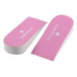 1 pár női hab növelő magasságú talpbetét rózsaszínű E8H6 V0X1