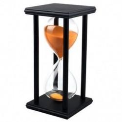 1X (színek! 60 perc fa homokóra homokóra homokóra időmérő óra dekoráció egyedi G K7G0