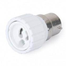 B22 - GU10 LED halogén CFL izzólámpa adapter átalakító D1H7