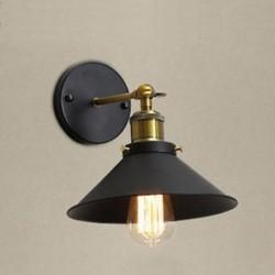 Ipari fali lámpa E27 Alap Retro Tetőtér LED fali lámpák Lépcsők a fürdőszobában I T1A6