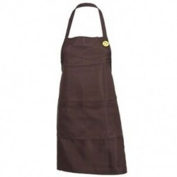 2X (Sima kötény elülső zsebében lévő konyhai főzőkészítővel, kávéfőző G7F4)