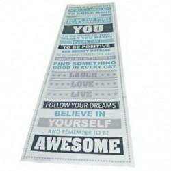 Légy félelmetes, motiváló motivációs boldogság idézetek Pr I2O1 dekoratív poszter