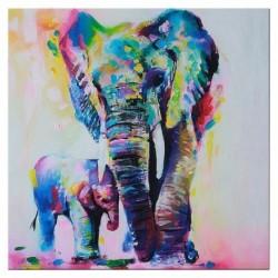 Otthon fali művészet, vászon nyomtatás, kép HD dekoráció (50 x 50 cm, többszínű) M2G2
