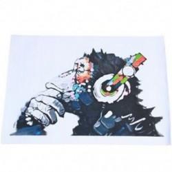 4X (Modern lakberendezés, vászon nélkül) PP9S2 falfestmény plakátot nyomtat