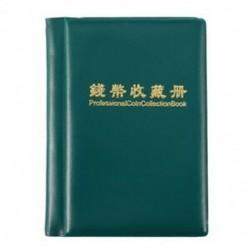 Tartós gyűjtemény-könyv az M2I5 darabjainak hordozható tároló tokjának érmealbumához