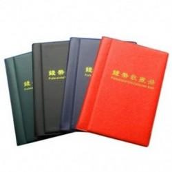 1X (120 érme pénzgyűjtő albumtartó könyv hordozható Penny Storage Pock U6D7