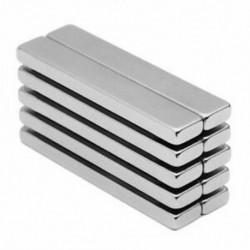 4X (Erőteljes neodímium rúdmágnesek, ritkaföldfémek neodímium mágnes, N45, I7F4