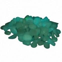 100 ragyogás a sötét kavicsos kövekben a Walkway Blue Green E3L4 CQ számára
