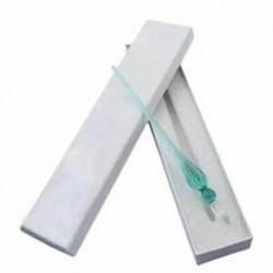 2X (Tesztüveg toll üvegüveg üveg toll (jégzöld) I5C3)