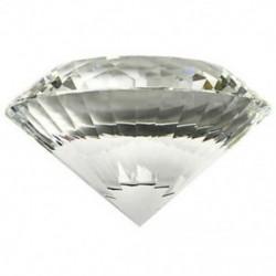 4X (átlátszó, sokoldalú kristály gyémánt, 80 mm átlátszó kristályüveg DiamM3A3