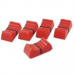 5 db vegyes csúszó csúszkagombok 8 mm-es szabványos fit piros-fekete V7W7