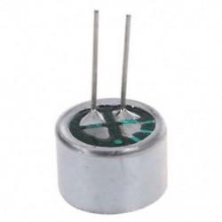 10 PCS 9,7 mm x 7 mm 2 tűs MIC Capsule Electret kondenzátor mini telefon O1E7