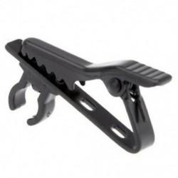 4 x mini hangszóróval ellátott nyakkendő klip a Lapel Lavalier Mic (fekete) F4P6-hoz
