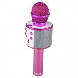 Vezeték nélküli karaoke mikrofon Hordozható Bluetooth mini otthoni KTV zenelejátszáshoz V6W5