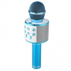 Vezeték nélküli karaoke mikrofon Hordozható Bluetooth mini otthoni KTV zenelejátszáshoz C1R4