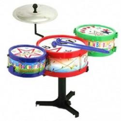 Gyerekek gyerekek színes műanyag hangszerek Toy Dob dob készlet BT