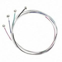 1X (4 db-es sorozat hegedűhúrok EADG mag acél   nikkel seb gyönyörű S Y8H2