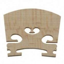 Csere 1/4 méretű hegedű alkatrészek Húros központ fahíd H3R8