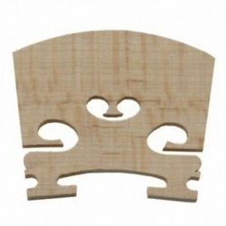 2X (Cserélhető 1/4 méretű hegedű alkatrészek húros központ fahíd Z3K9)