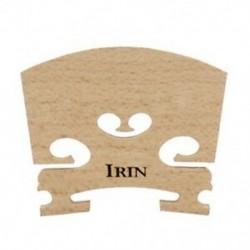 2X (Irin Maple Wood rendszeres akusztikus hegedűhíd 4/4 méretű tartós hegedű U8R9