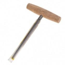 2X (Hegedű Viola Peg lyukasztó 1:30 Kúpos fa fogantyú a Par L8U7 Luthier szerszámhoz)