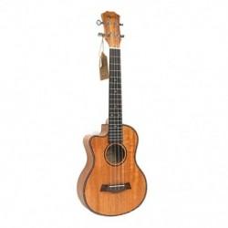 1X (Tenor akusztikus 26 hüvelykes Ukulele 4 húrok gitár utazási fa mahagóni MusI8C2)