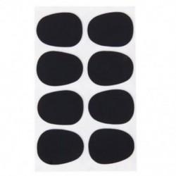 8db Alto / Tenor szaxofon szaxofon-kesztyű javítások Pad párnák fekete --- 0,3 mm B5H4