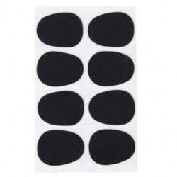 8db alt / tenor szaxofon szaxofon szájdarab javítások párnák fekete 0,8 mm M6R7