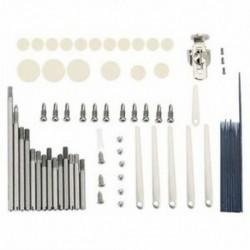 75 db / készlet Klarinét javító szerszámok Klarinét csavarrugók karbantartó készlet Inst O8D0