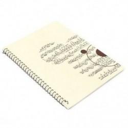 50 oldalas kis Medve Musical Sheet Kézirat Papír Jegyzetfüzet C9C9