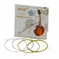 IRIN 8 db / csomag mandolin húrok húros készlet E / A / D / G importált rozsdamentes Stee T3Y5