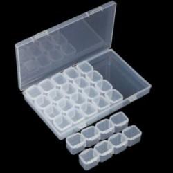 3X (a Nail 28 rácsos ékszerdoboz összeállítható bontási doboz körömdekorát I4N9