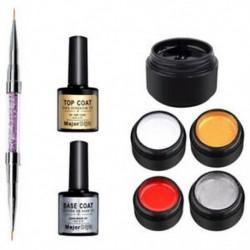 Dijit őrnagy, 5 színű, szálcsiszolt műanyag készlet, lila, kristályos tollal, alsó szemét S2K6