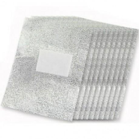 10x (100db alumínium fólia köröm Art Soak Off akril gél lengyel köröm eltávolító W5J0