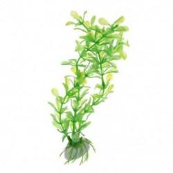 1X (Art Plant 20 cm-es akvárium dekoratív vízinövények C1W3)