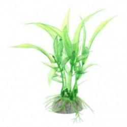 1X (műanyag zöld akváriumdíszű fű-akvárium dísz J9O3)
