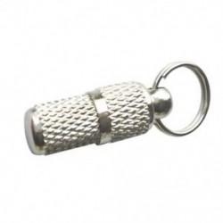 1X (ezüst kisállat azonosító hordócímke címkecső P9H1)